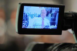 Peer Steinbrück beim UdL Digital Talk