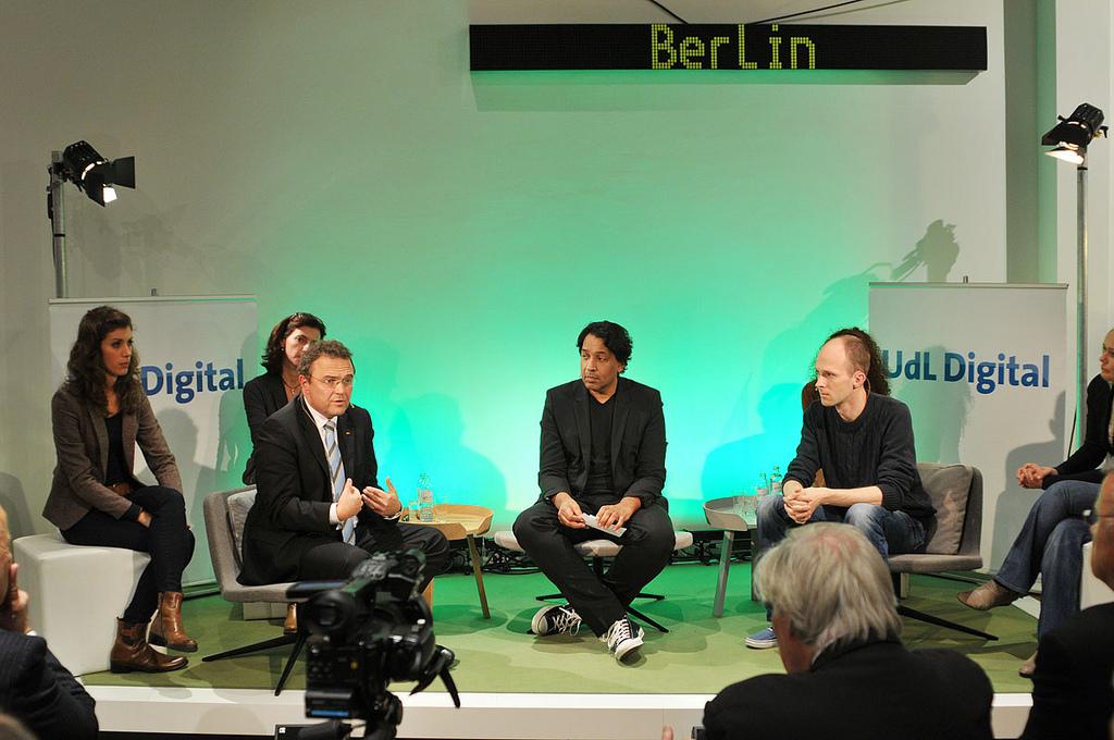 Hans-Peter Friedrich beim UdL Digital Talk