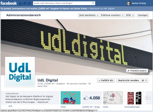 UdL Digital auf facebook