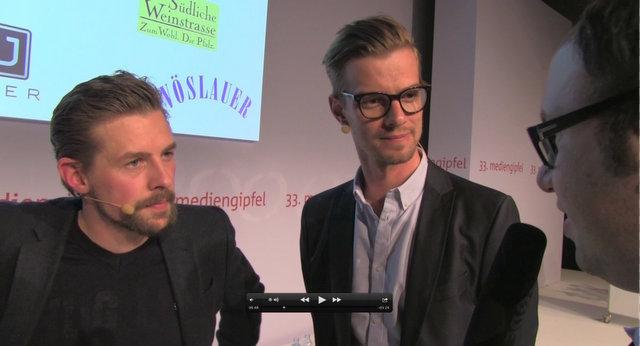 Joko und Klaas im Interview