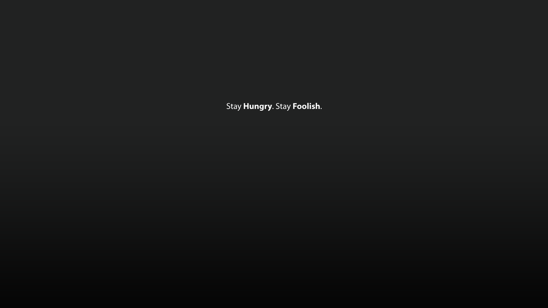 stayhungry-stayfoolish