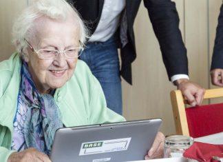 Senioren entdecken das Netz