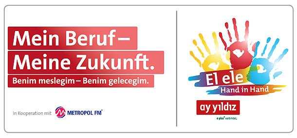 Ay Yildiz startet eine Aktion, um Jugendliche mit Migrationshintergrund zu unterstützen.