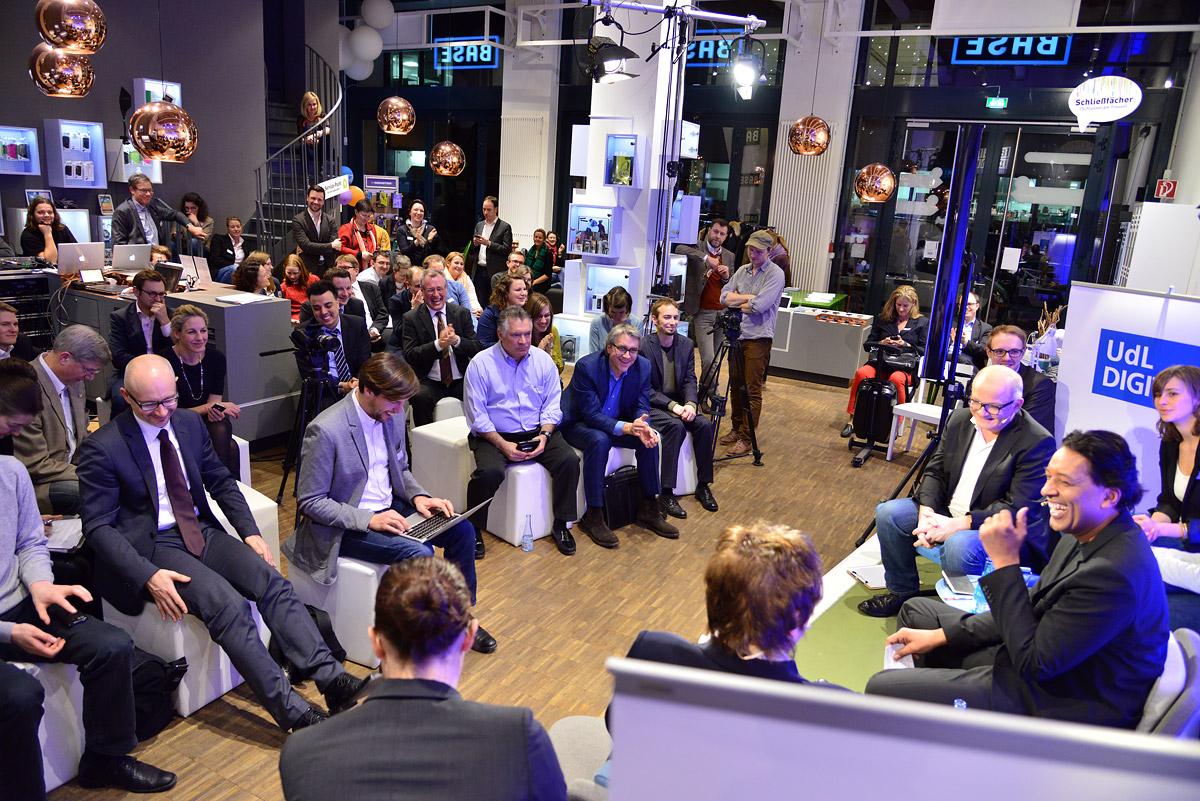 UdL Digital Talk mit Brigitte Zypries und Christoph Kappes