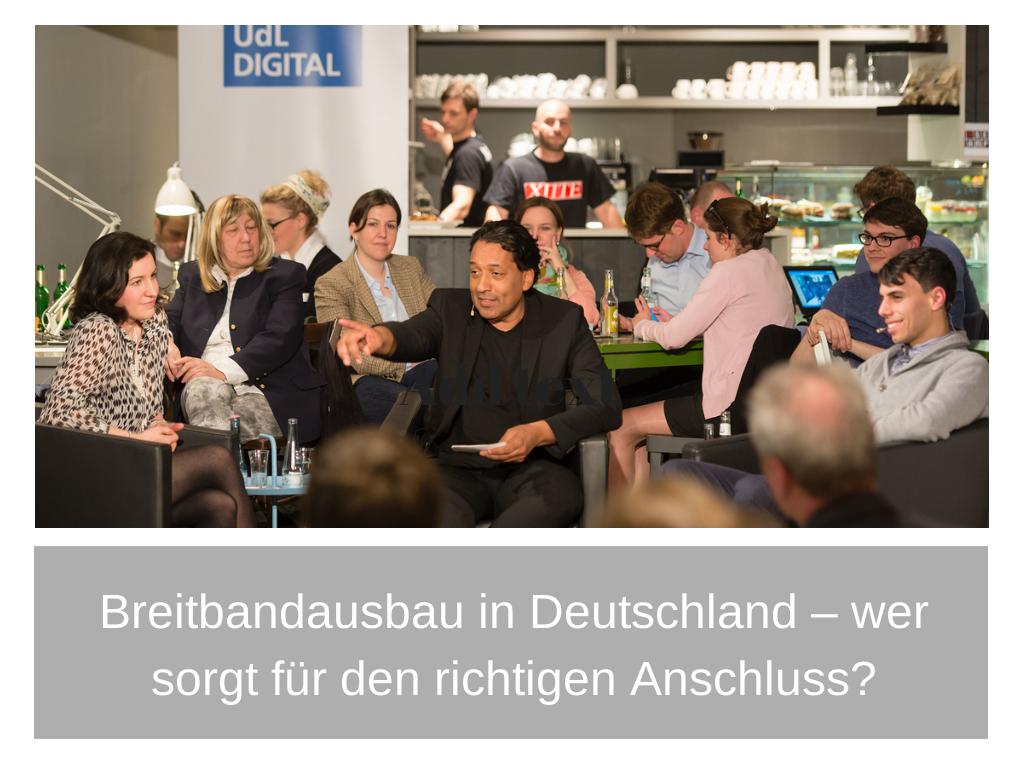UdL Digital Talk mit Dorothee Bär und Christian Hartung