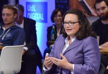 Arbeiten 4.0 - UdL digital Talk mit Bundesarbeitsministerin Nahles