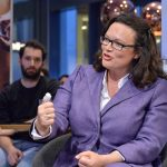 Andrea Nahles beim UdL Digital Talk