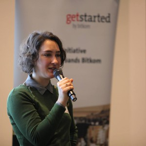 Katharina Dermühl (Migration Hub Berlin/Kiron University)