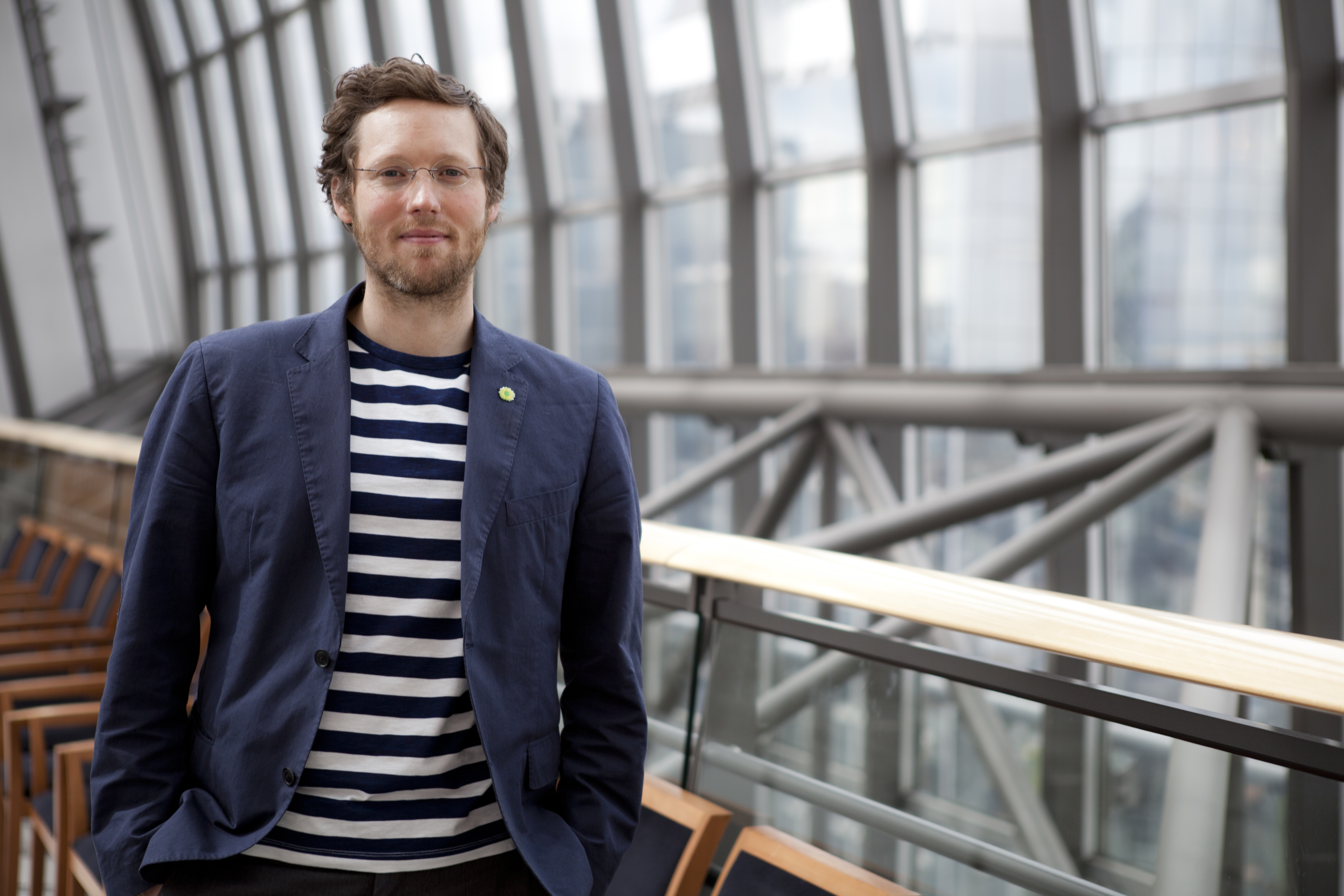 Europaabgeordneter Jan Philipp Albrecht, der Verhandlungsführer des EU-Parlaments zu DS-GVO, (c) by Firz Schumann