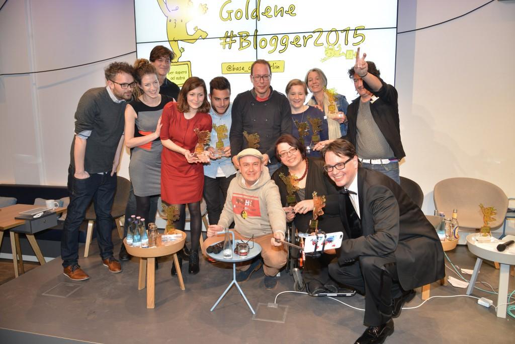 Die Gewinner der Goldenen #Blogger2015
