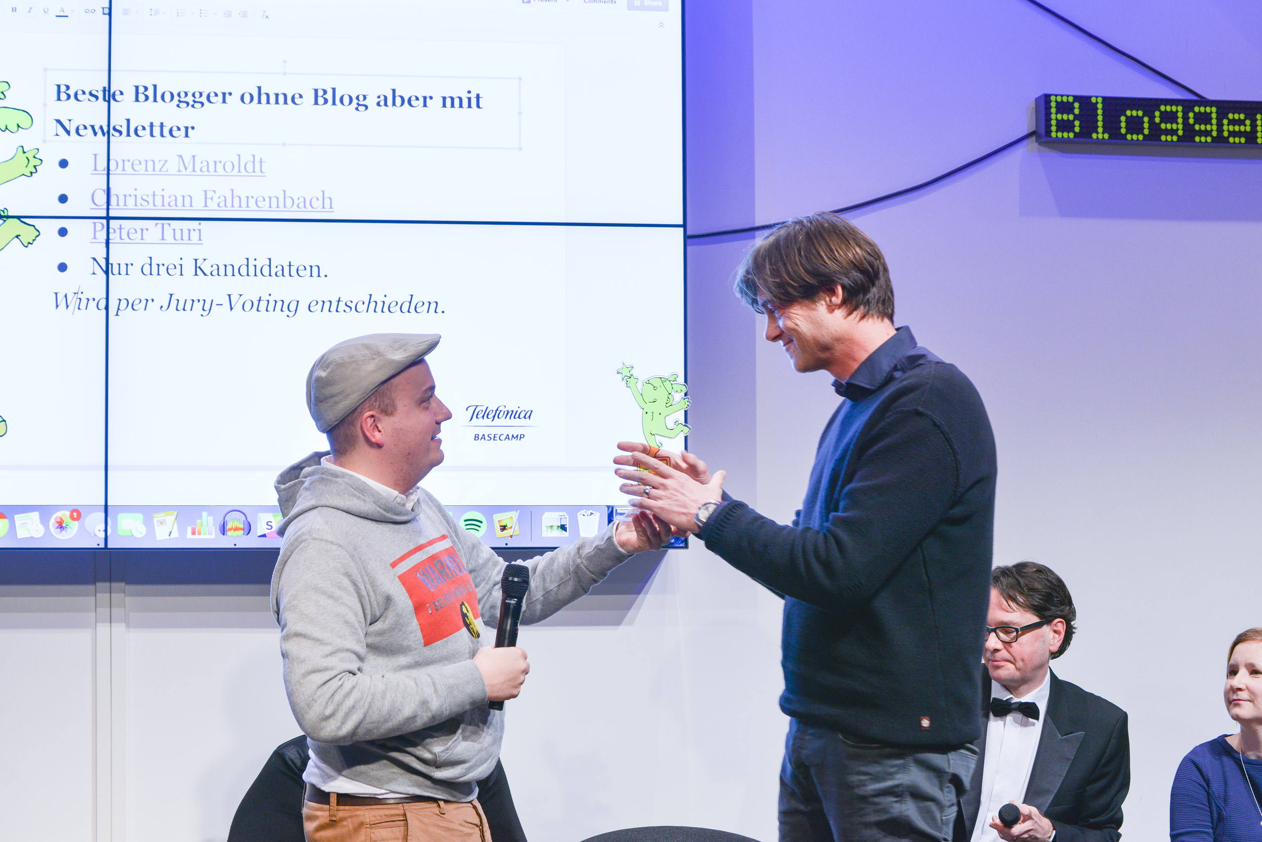 Lorenz Maroldt ist Goldener #Blogger2015