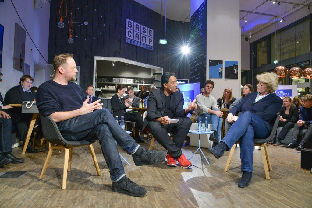 UdL Digital Talk im Telefonica BASECAMP Berlin