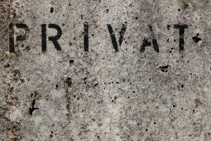 Privacy Datenschutz