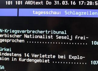 ARD Videotext Nachrichten