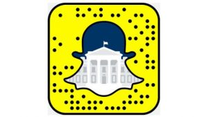 Auch Obama snapt. Quelle: whitehouse.gov