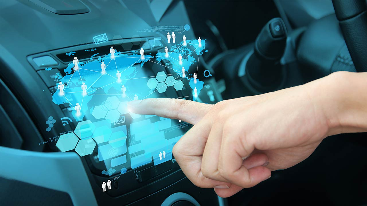 Auto Digital Hologramm shutterstock