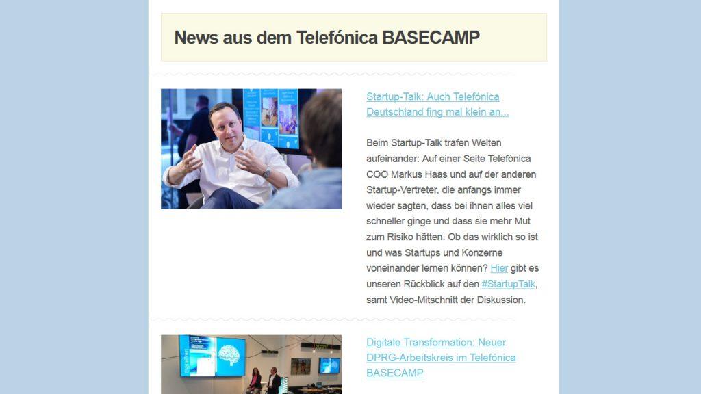Basecamp Newsletter 20160517 - News