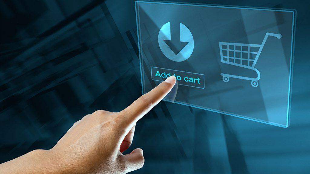 Einkauf Hologramm Digital shutterstock