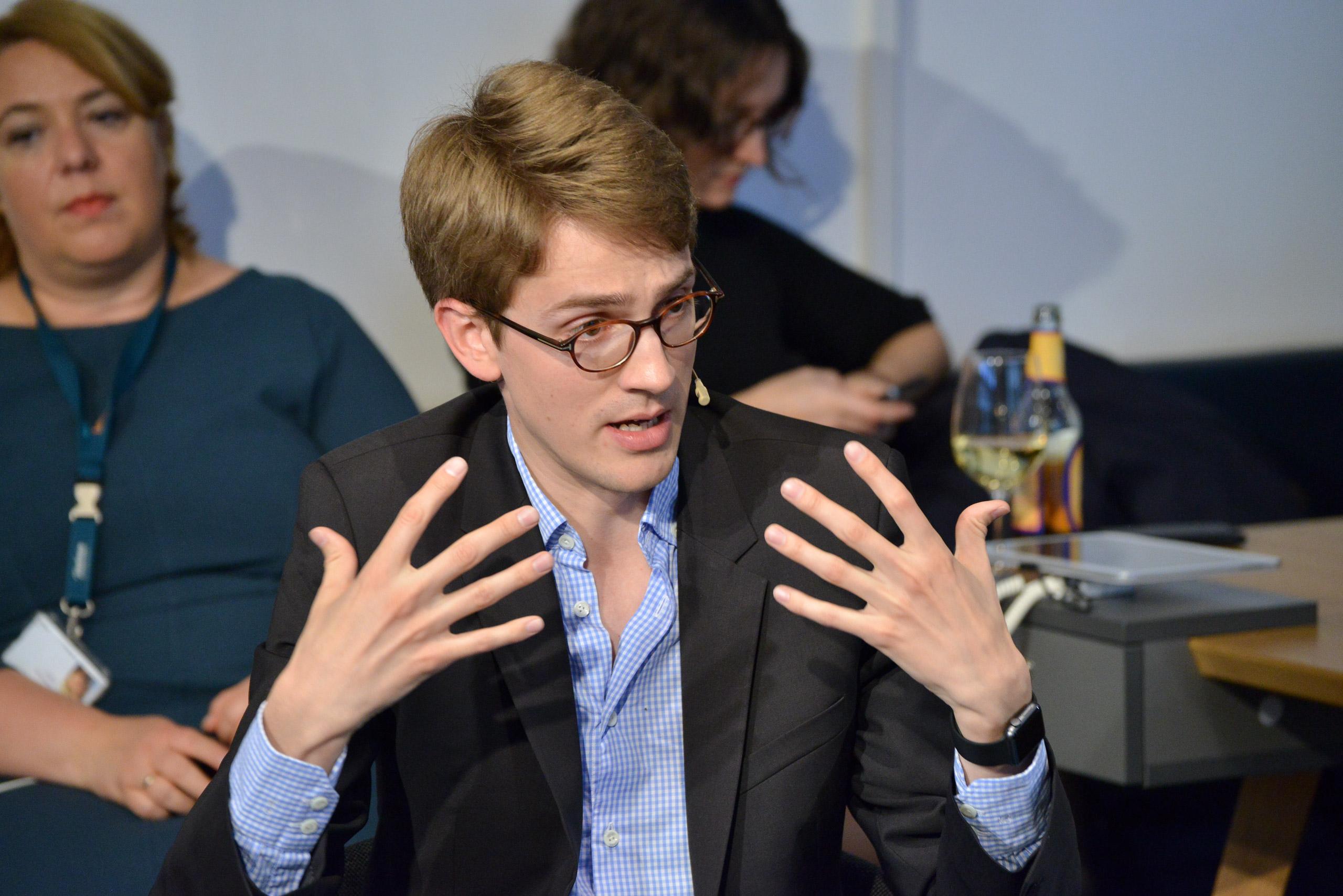 Georg Polzer – wie kann Europa digital durchstarten? Foto: Henrik Andree