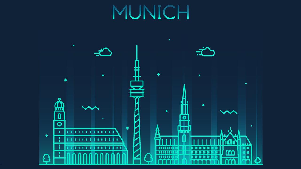 Vektor Deutschland Städte shutterstock
