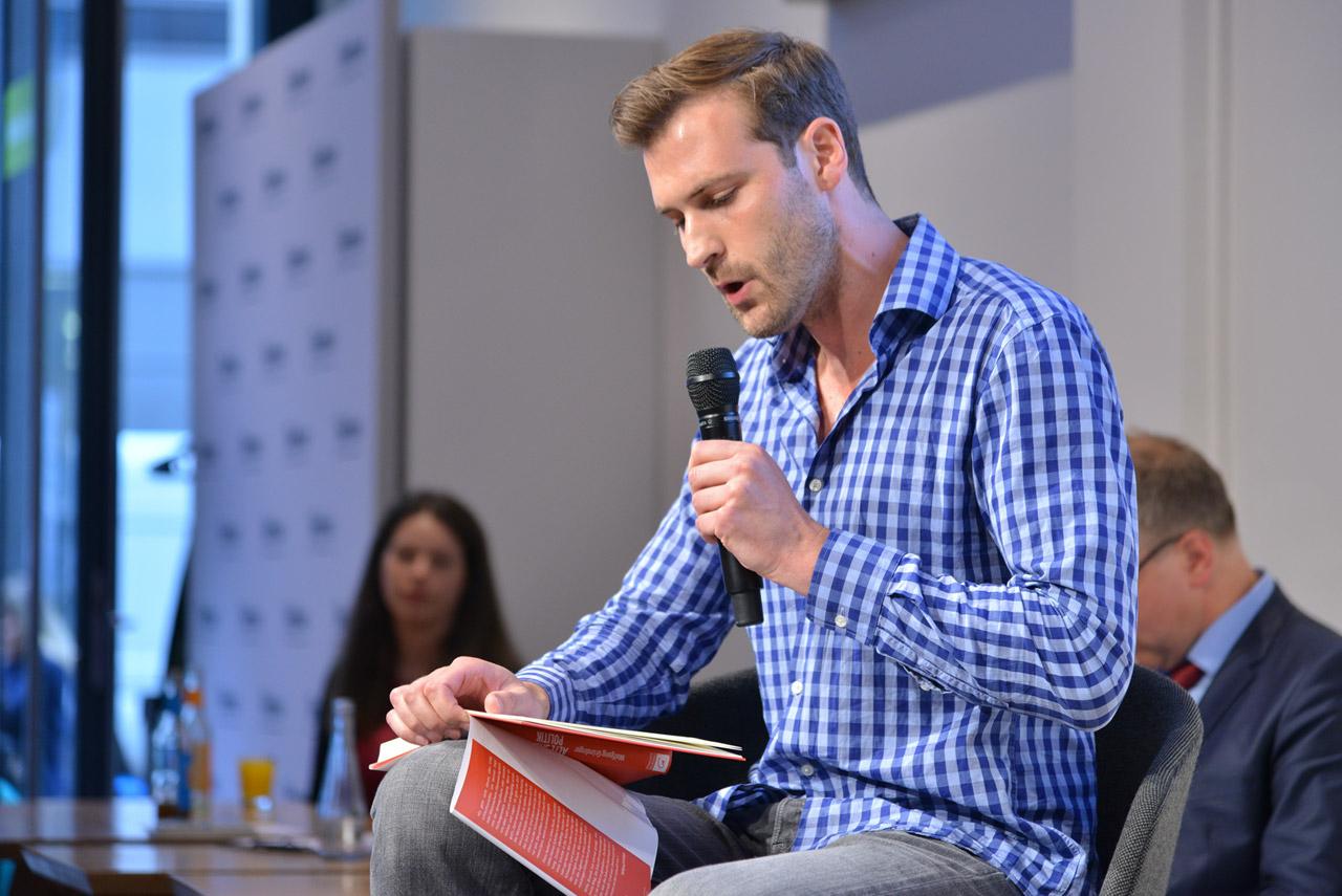 Wolfgang Gründinger, Zukunftslobbyist und Leiter des Forums Digitale Transformation beim Bundesverband Digitale Wirtschaft (BVDW) und Vorstand des SPD-Forums Netzpolitik