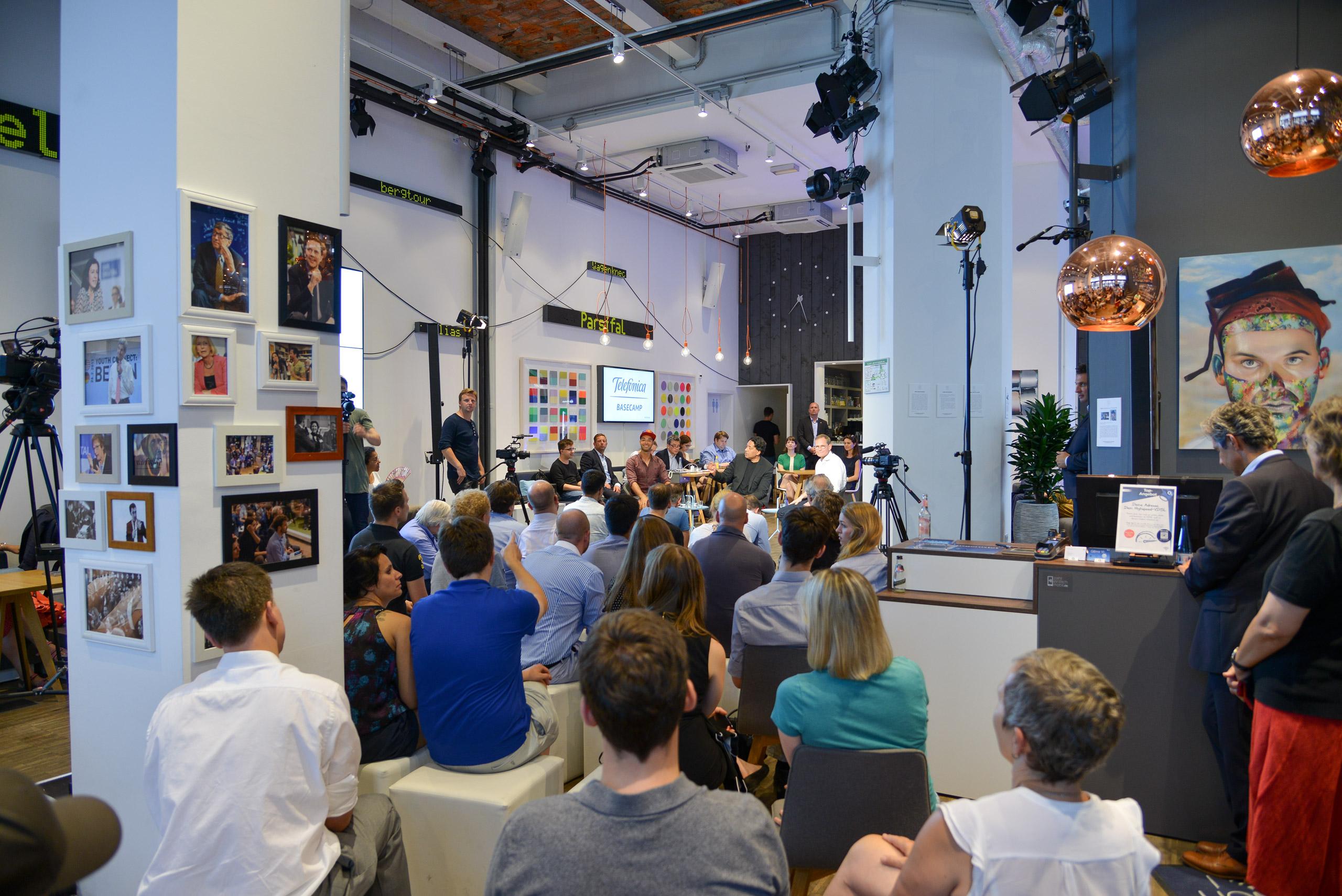 UdL Digital Talk im Telefónica Basecamp.