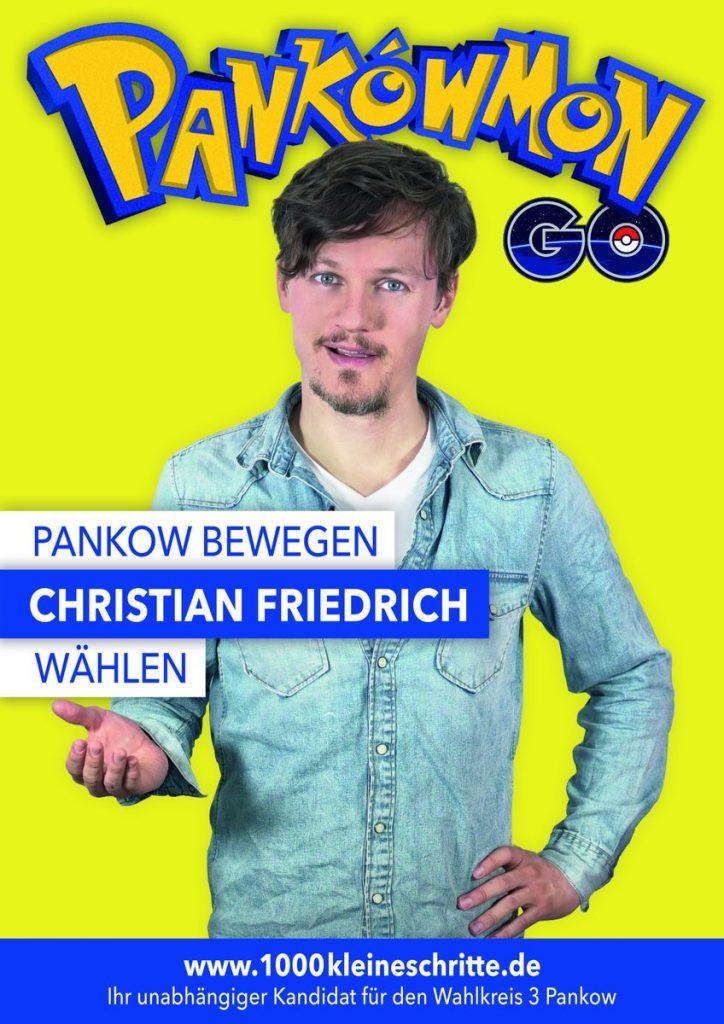 Pankowmon soll junge Wähler in Berlin erreichen CC Twitter / Christian Friedrich