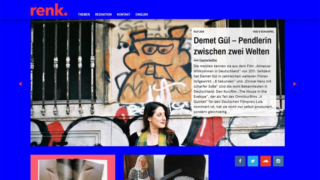 renk. Magazin online