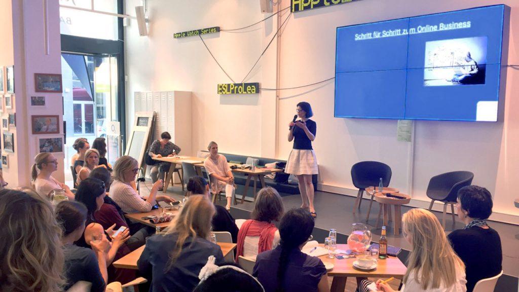 MomPreneurs Netzwerktreffen im Basecamp