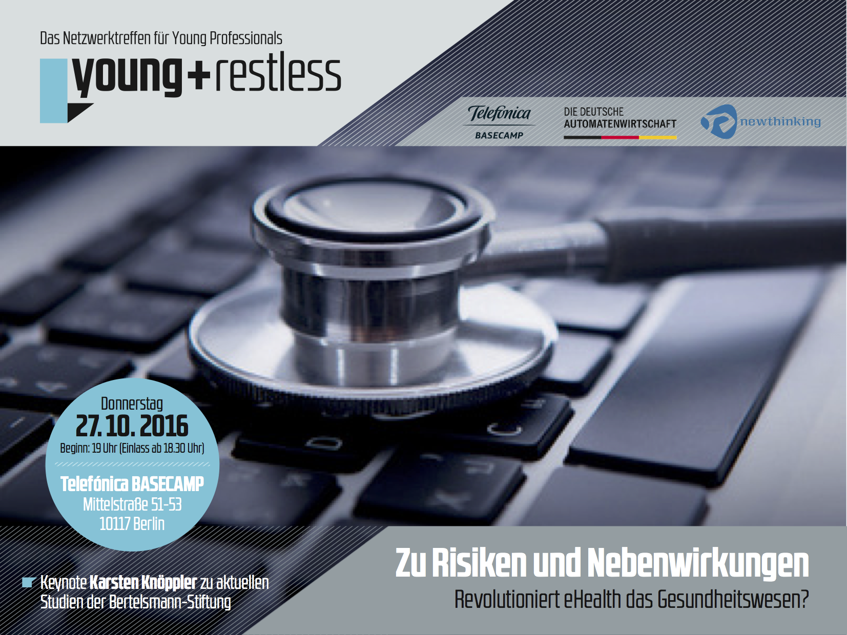 young+restless am 27. Oktober: Revolutioniert eHealth das Gesundheitswesen?