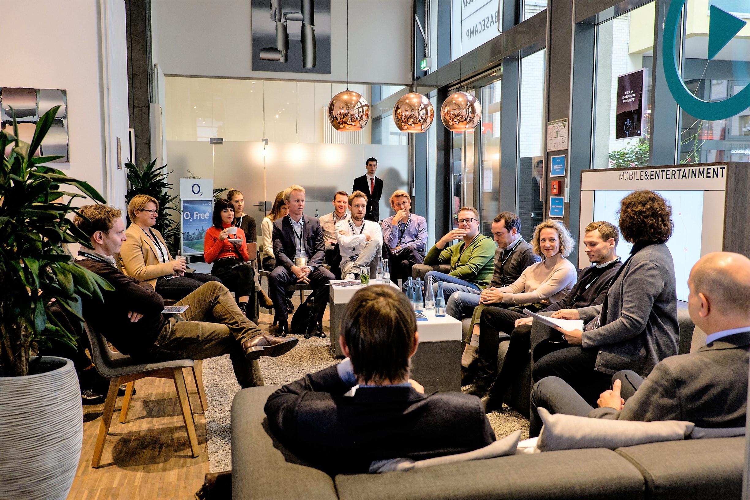 dataX Workshop im Telefónica BASECAMP. Foto: Nadja Büttner