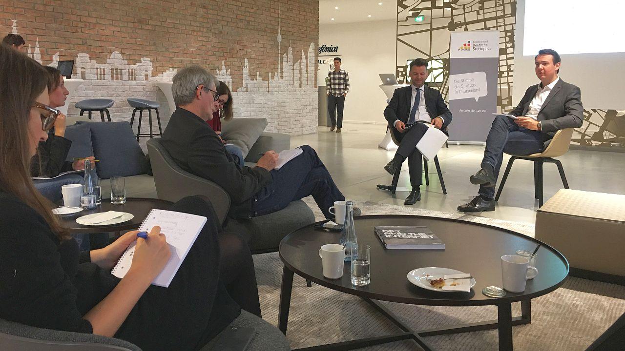 European Startup Monitor: Pressekonferenz in der Telefónica Digital Lounge