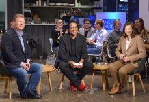 08.11.2016 Basecamp mit Cherno Jobatey, Katrin-Göring-Eckardt, Christoph Igel
