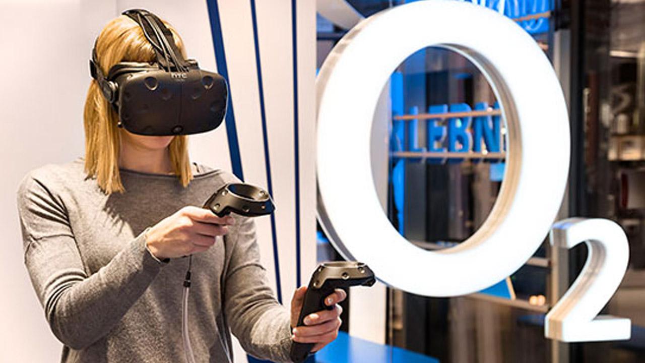 VR- im o2 Live Store