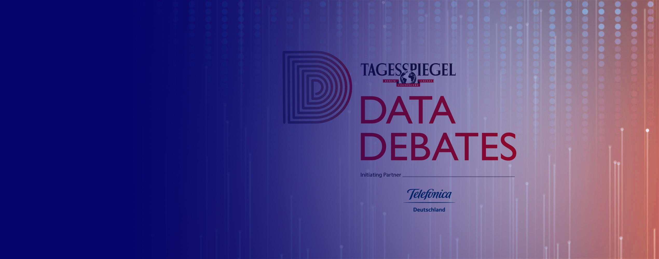 DataDebates Tagesspiegel und Telefónica Deutschland