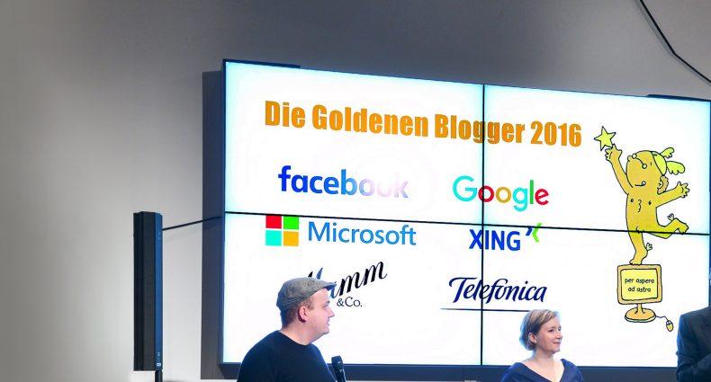 Der Goldene Blogger 2016 im Telefónica BASECAMP