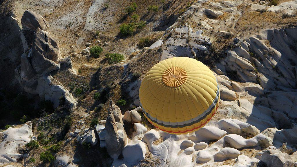 pixabay Heißluftballon Ballon Vogelperspektive Fliegen