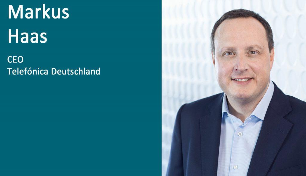 Markus Haas, CEO Telefónica Deutschland