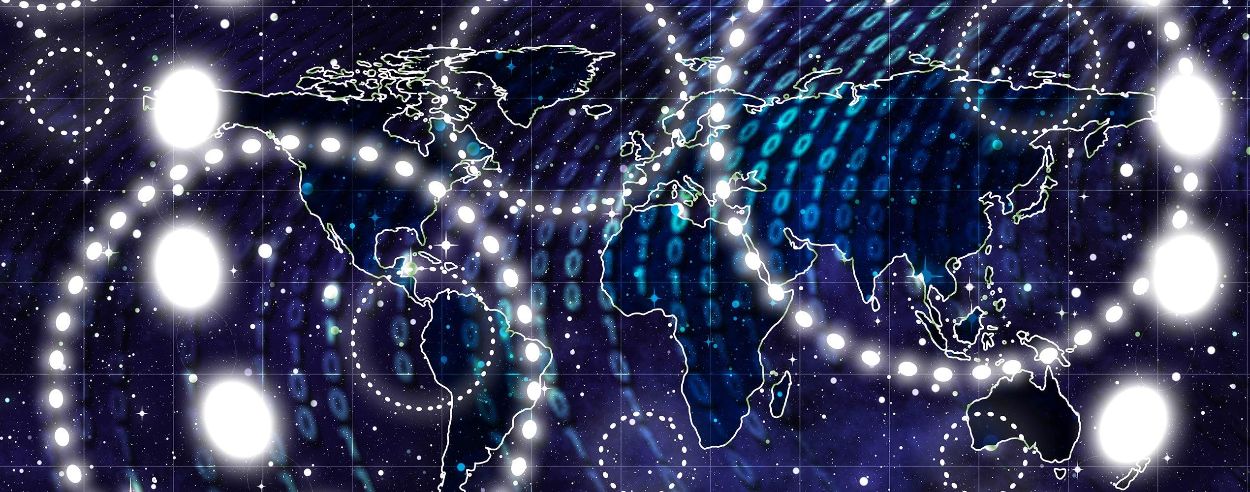 pixabay Kontinente Sterne Digital