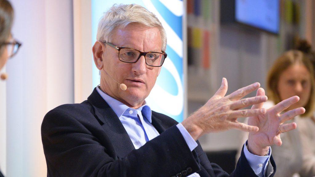 Carld Bildt zu Gast im Telefónica BASECAMP