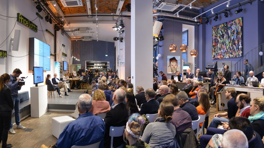 Publikum im Telefónica BASECAMP