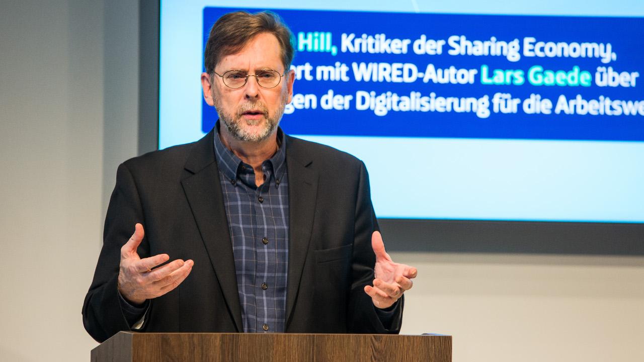 Steven Hill beim Digital Masterminds im Telefónica BASECAMP.