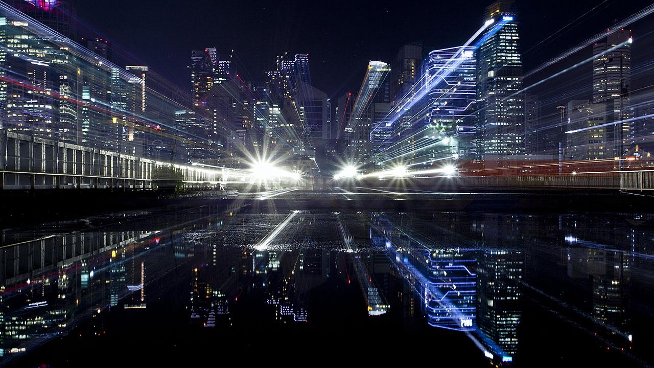 pixabay Stadt Lichter Nacht