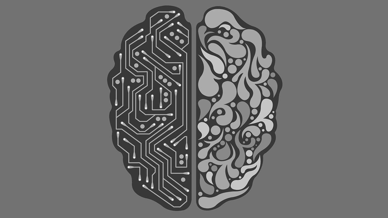 Gehirn Kuenstliche Intelligenz Microchip