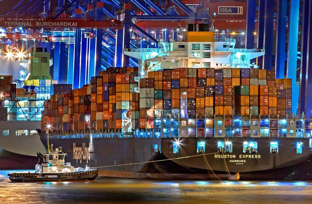 Hamburg Hafen / Logistik