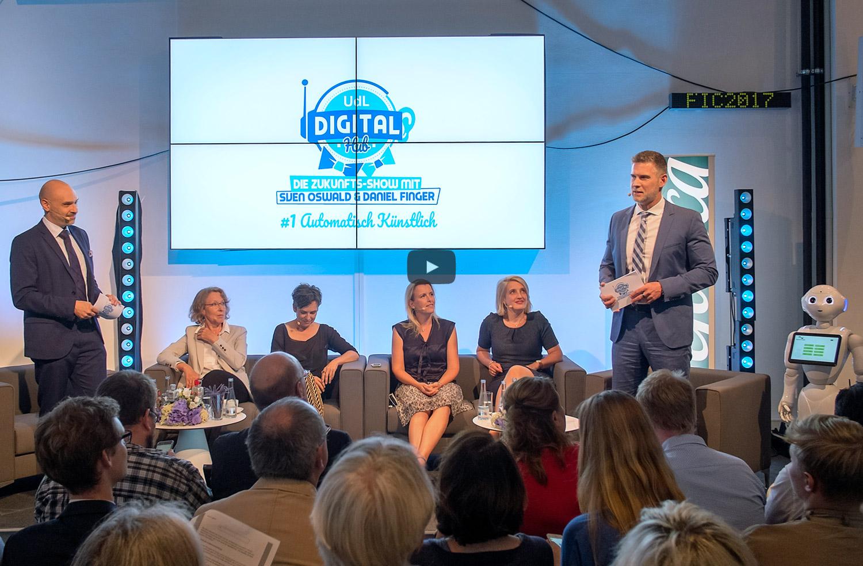 Die Zukunftsshow mit Sven Oswald und Daniel Finger - UdL Digital Hub