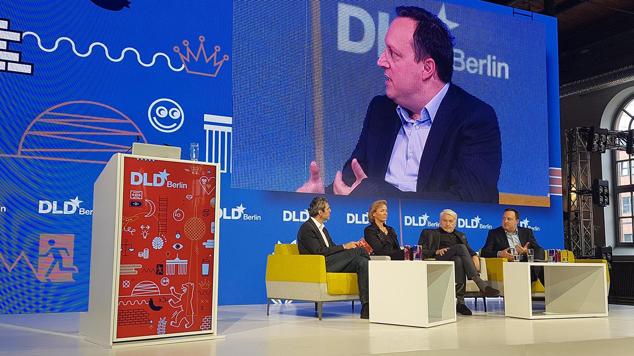 Elisabeth Denison, Deloitte Germany, Manfred Broy, ZD.B, und Markus Haas, Telefónica Deutschland