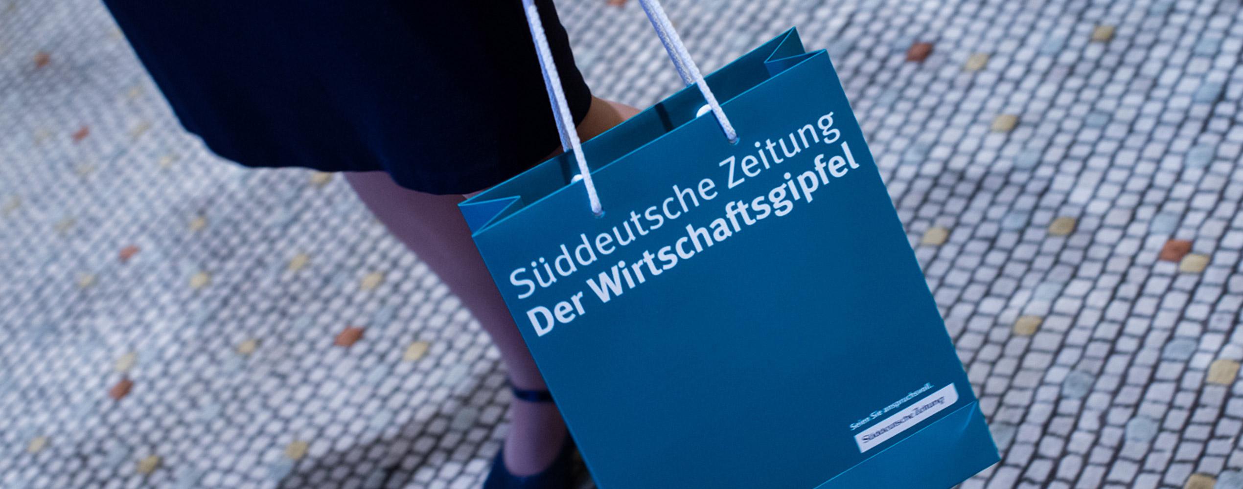 SZ Wirtschaftsgipfel / Bag