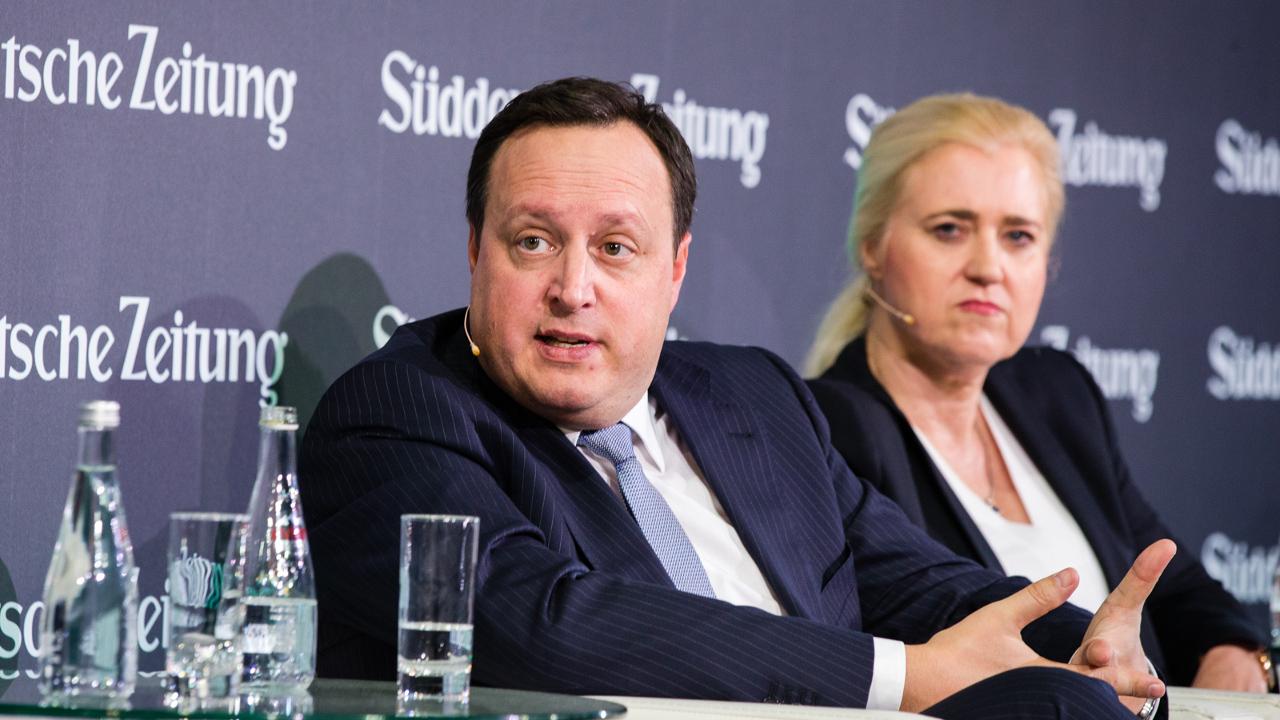CEO Markus Haas beim SZ-Wirtschaftsgipfel