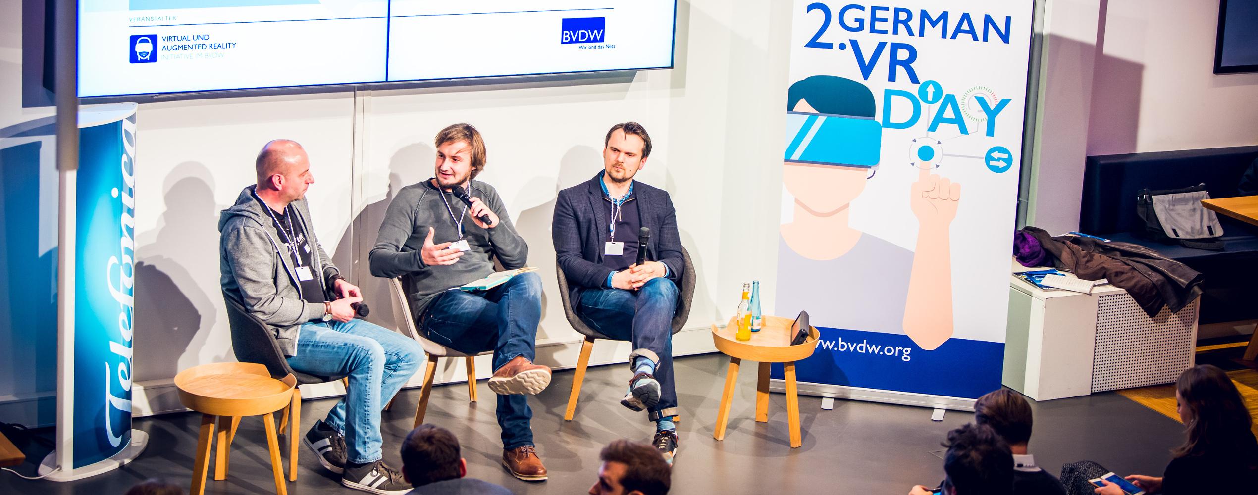 Zweiter German VR Day des Bundesverbandes Digitale Wirtschaft (BVDW) im Telefónica BASECAMP. | Foto: BVDW e. V.